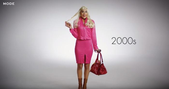 Элль Вудс из фильма «Блондинка в законе», роль которой в 2001 году исполнила Риз Уизерпун (Reese Witherspoon).