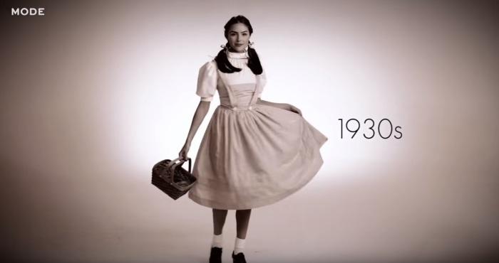 Дороти Гейл из фильма «Волшебник страны Оз», роль которой в 1939 году исполнила американская актриса Джуди Гарленд (Judy Garland).