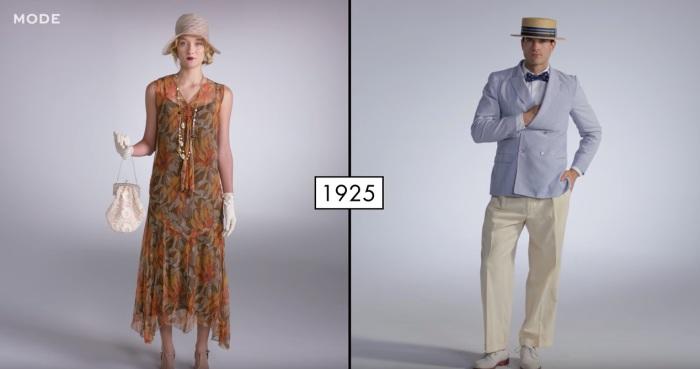 В двадцатые годы прошлого века в моде были раскованность и джаз.
