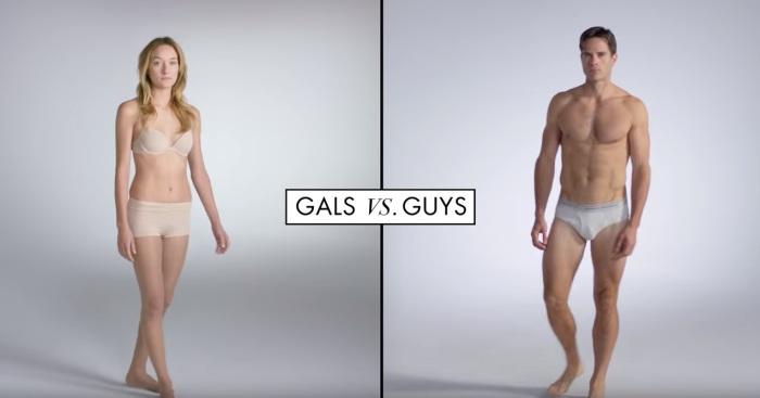 Как выглядели мужчины и женщины на протяжении последнего столетия.