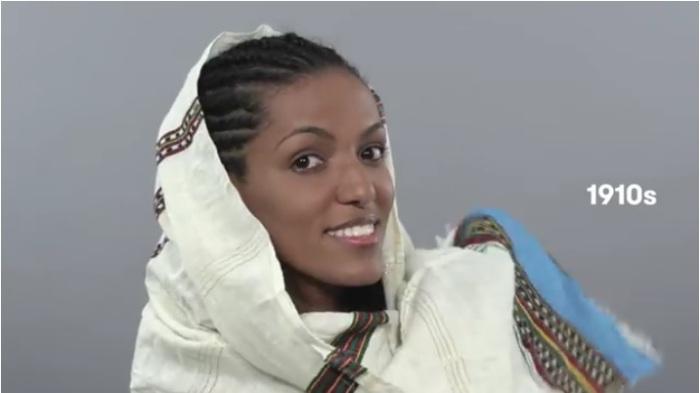 Как менялись представления о женской красоте за последние 100 лет в Эфиопии.