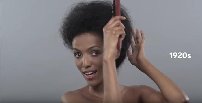 В двадцатые годы прошлого века женщины, живущие в Эфиопии, делали начесы и высокие прически.