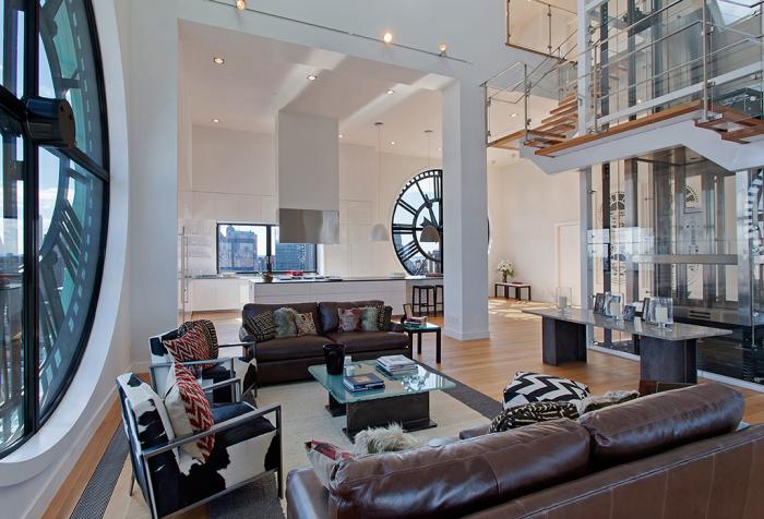 Апартаменты стоимостью 18 миллионов долларов, которые находятся в бруклинской часовой башне.