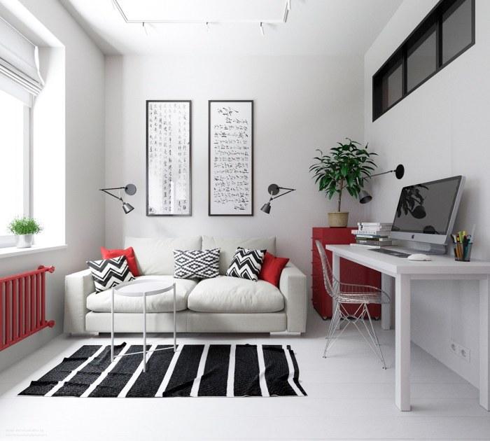 Замечательные апартаменты, площадь которых всего 30 квадратных метров.