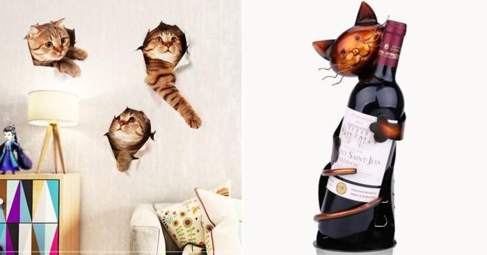 Занятные вещички для тех, кто не представляет свою жизнь без кошек.