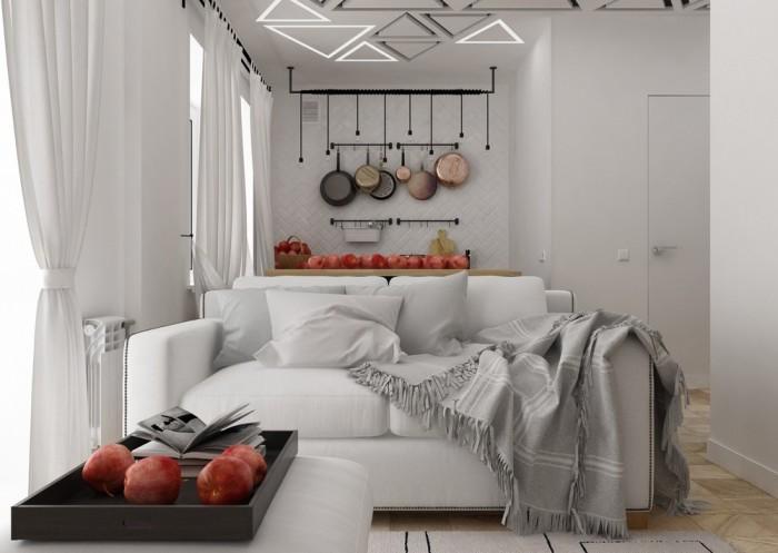 Маленькая квартира, площадь которой меньше 30 квадратных метров, - не приговор.