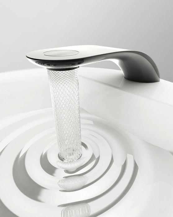 С таким смесителем мытьё рук - одно удовольствие.