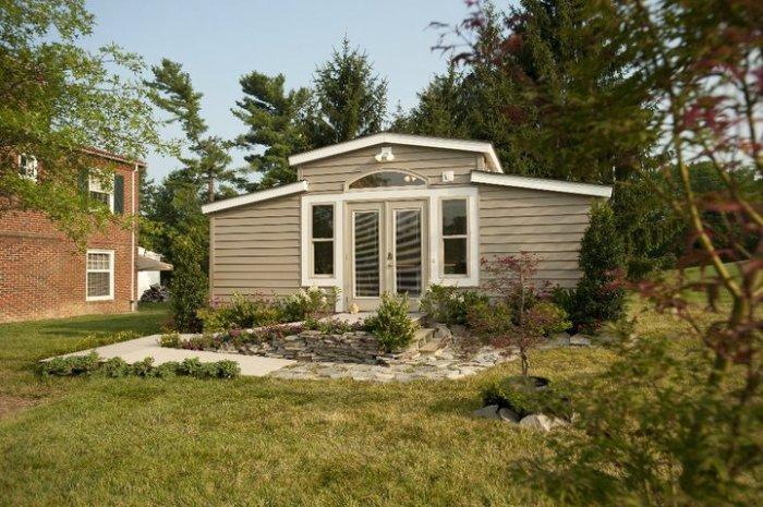 «Granny Pod» - дом для пожилых родителей или других близких родственников.