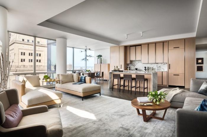 Апартаменты для звездной пары на сорок седьмом этаже нью-йоркского небоскреба.