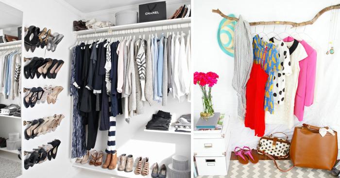 Одежду, обувь и другие вещи можно хранить не только в шкафах.