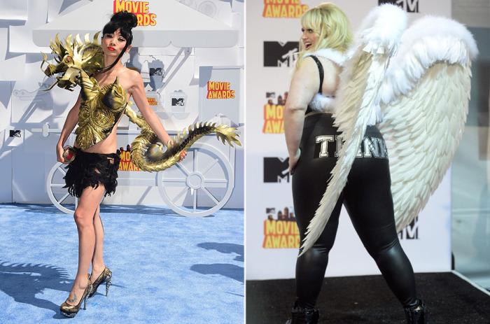 Самые яркие образы с MTV Movie Awards 2015.