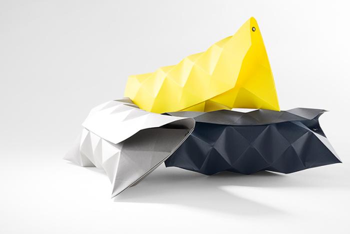 Бумажные клатчи от гамбургской дизайн-студии Petit Fou.