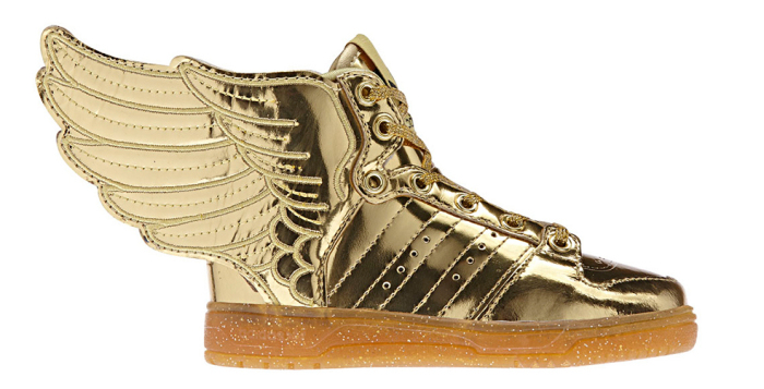 Кроссовки с крыльями от Jeremy Scott