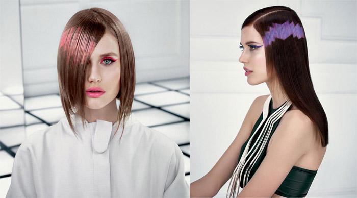 Новый тренд - пиксельное окрашивание волос