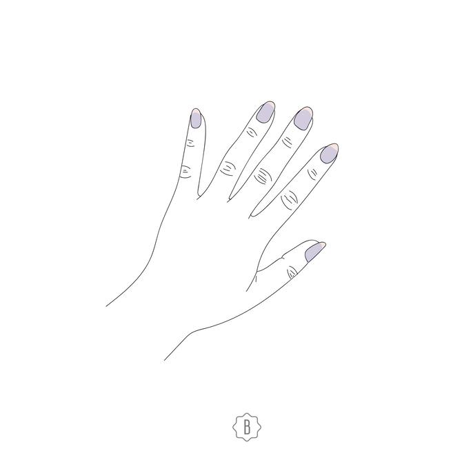 Ногти синего или фиолетового цвета говорят о недостатке кислорода и проблемах с сосудами.