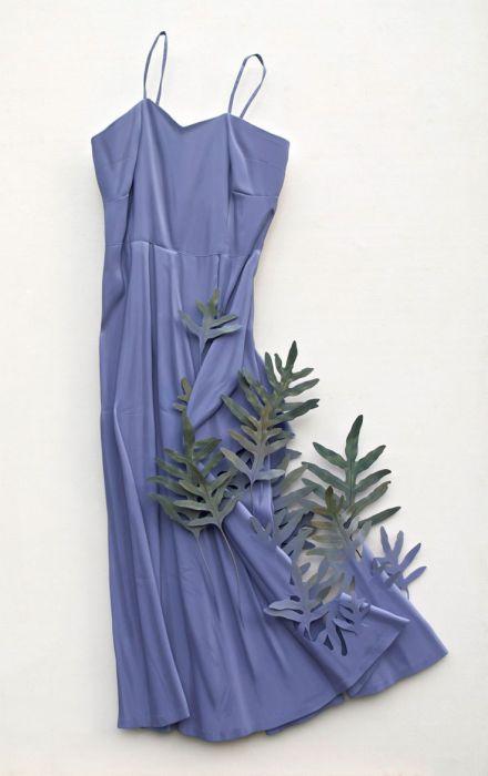 Платья из финской березы от американского дизайнера Рона Айзекса.