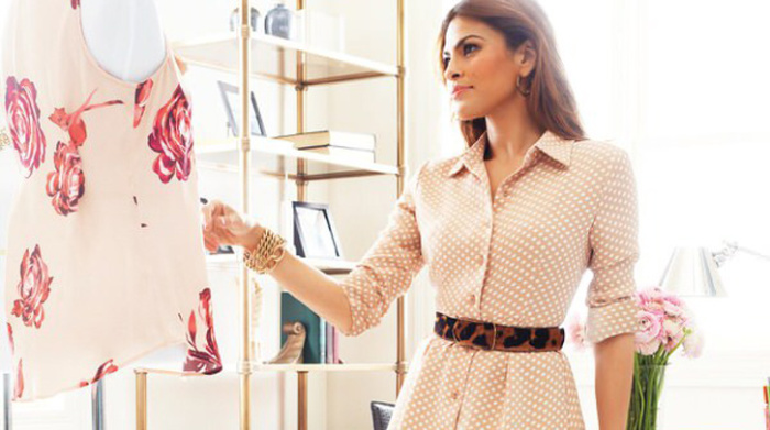 Ева Мендес разработала дизайн одежды для New York & Company.