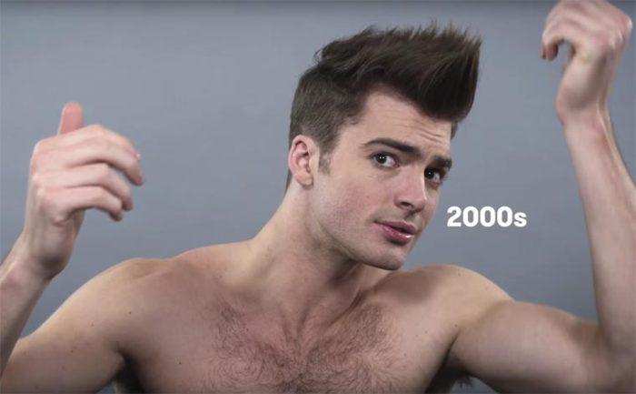 В начале двадцать первого века мужчины начинают тщательнее следить за собой и уделять больше внимания своим волосам.