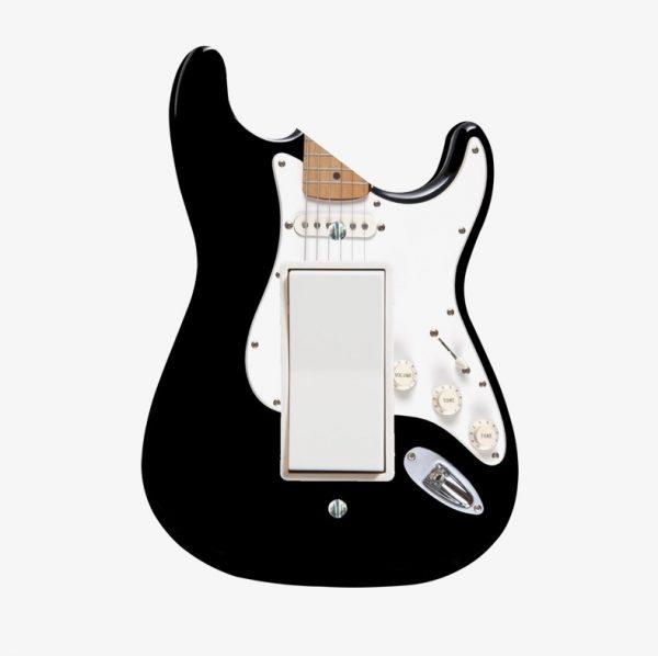 Переключатель света в виде бас-гитары.