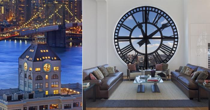 В одной из нью-йоркских часовых башен находятся самые дорогие апартаменты Бруклина.
