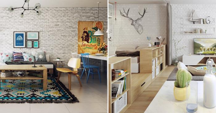 Несколько примеров, демонстрирующих красоту скандинавского стиля в дизайне интерьера.