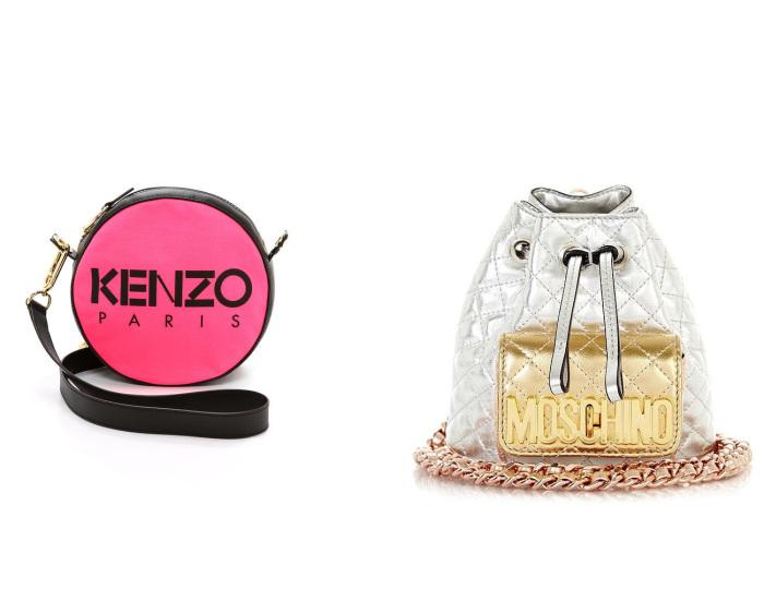 Сумки от KENZO и MOSCHINO