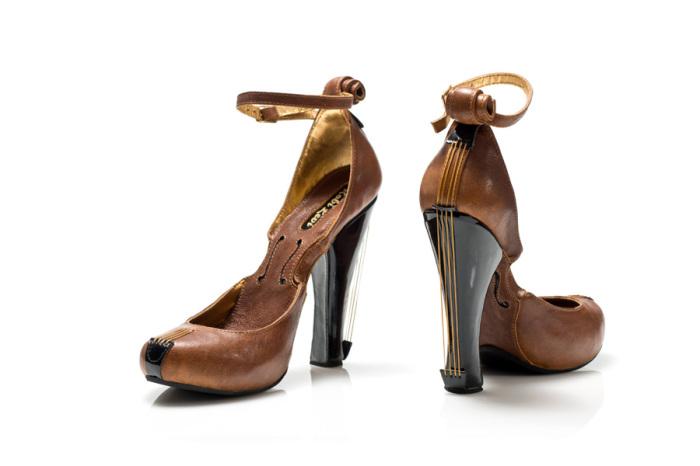Туфли-скрипки.
