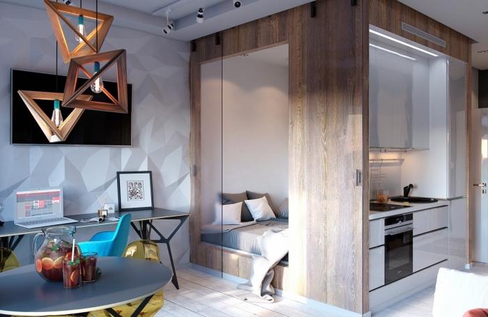 Уютная и компактная квартира, площадь которой всего 30, 22 квадратных метра.