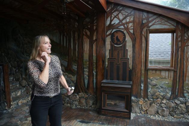 Лаури Сведберг - художница, которая создала дом своими руками.