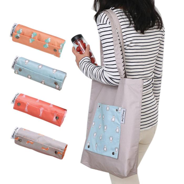 Компактная сумка-пакет поможет сэкономить деньги и сберечь окружающую среду.