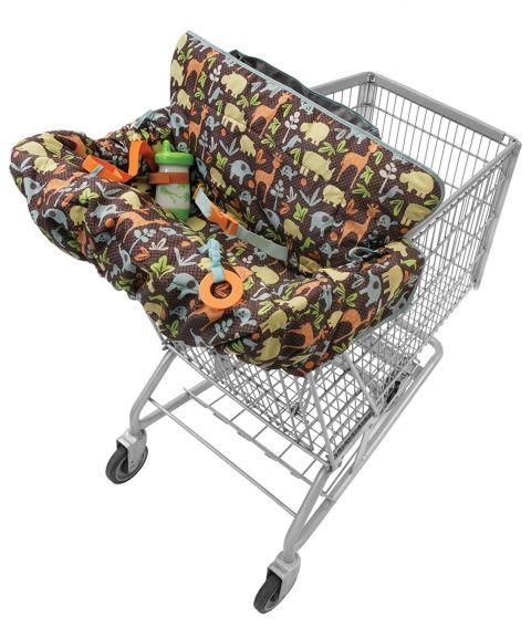 Переносное сидение для маленьких детей - необходимый аксессуар для похода в супермаркет.
