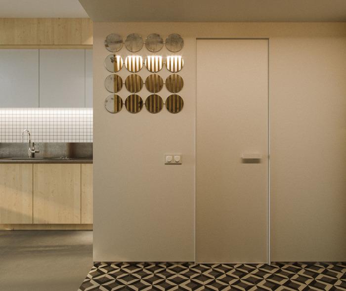 Отличный декор апартаментов от архитектора и дизайнера Андрея Баринова.