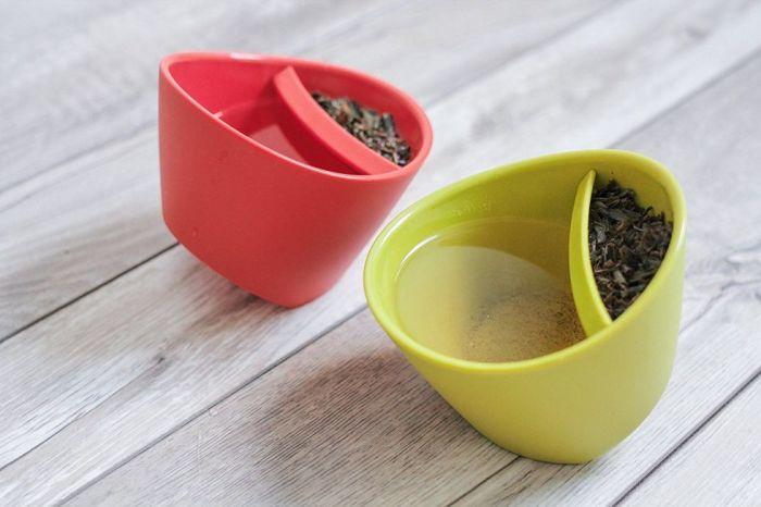 Чашки-заварники помогают с удовольствием пить свежий чай без надоедливых чаинок.