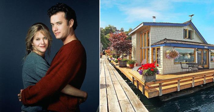 Дома, которые известны по знаменитым голливудским кинолентам.