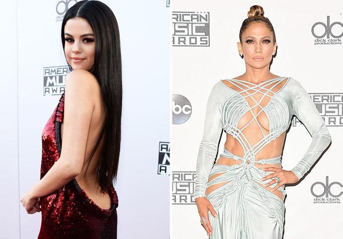 Самые броские наряды с церемония вручения главной музыкальной премии года - «American Music Awards-2015».