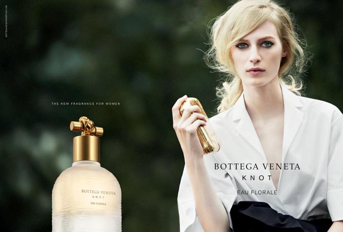 «Knot» - цветочный аромат от известного бренда Bottega Veneta.
