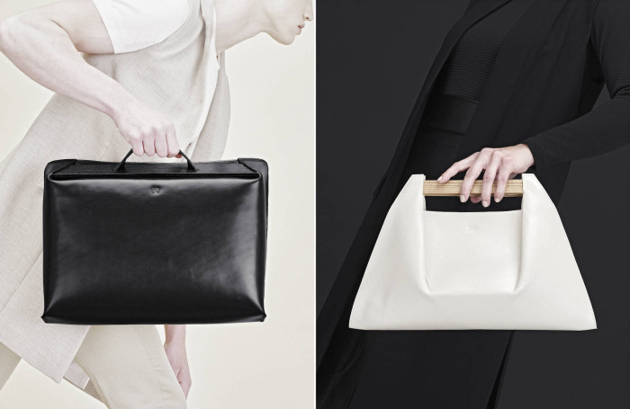 Оригинальные и стильные сумки, символизирующие мосты.