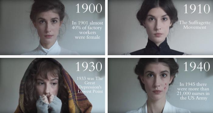 Красота обычных женщин, которым приходилось жить в суровых условиях начала двадцатого века.