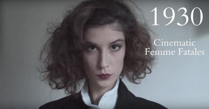 В тридцатые годы прошлого века на пике популярности был распространённый в кино образ роковой и сексапильной женщины (фр. la femme fatale), которая манипулирует мужчинами посредством флирта.