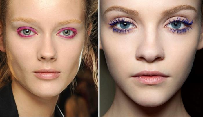 Тушь для ресниц разных цветов и оттенков помогает представительницам прекрасного пола подчеркнуть красоту глаз и создать оригинальный образ.