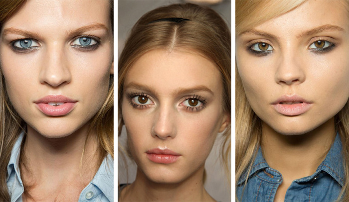 Одна из модных тенденций в макияже летнего сезона 2016 года - подчеркнутое нижнее веко.