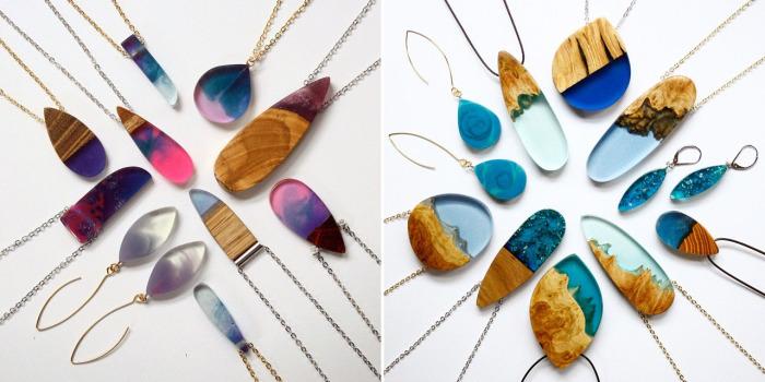 Бритта Бекман (Britta Boeckmann) - немецкий дизайнер из Австралии, создающий потрясающие украшения ручной работы из древесины и смолы.