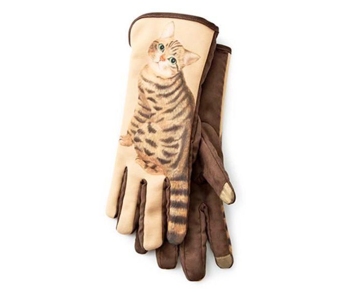 Перчатки «Cat Gloves» от разработчиков из Японии сделаны с использованием специального проводимого материала.