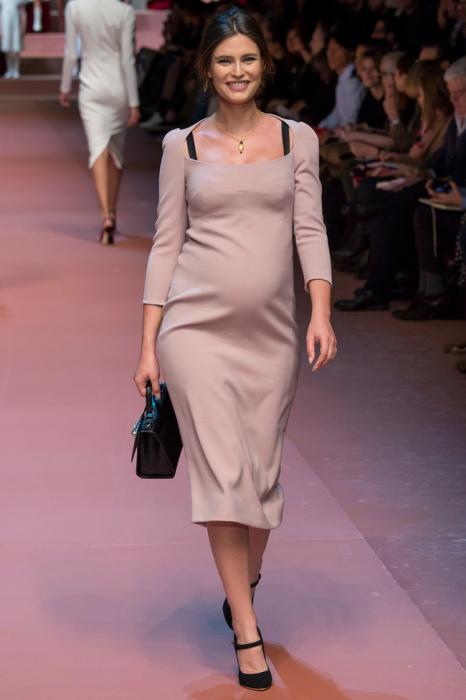 Муза дизайнеров - итальянская модель Bianca Balti (Бьянка Балти).