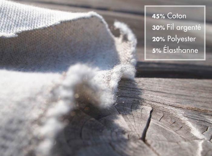 Мужское нижнее белье DUOO содержит серебряные нити, которые предотвращают вредное воздействие смартфонов.