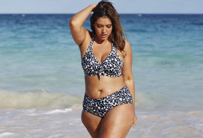 Denise Bidot (Дэнис Бидо) - модель плюс-сайз, которая уверяет, что женщины должны принимать и любить себя.