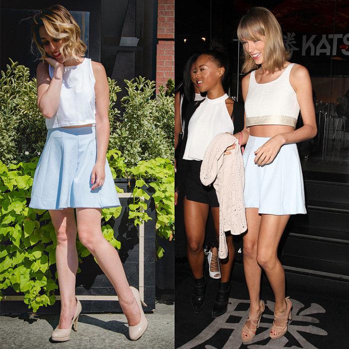 Известная американская певица и актриса Тейлор Свифт (Taylor Swift) - хороший пример для подражания.