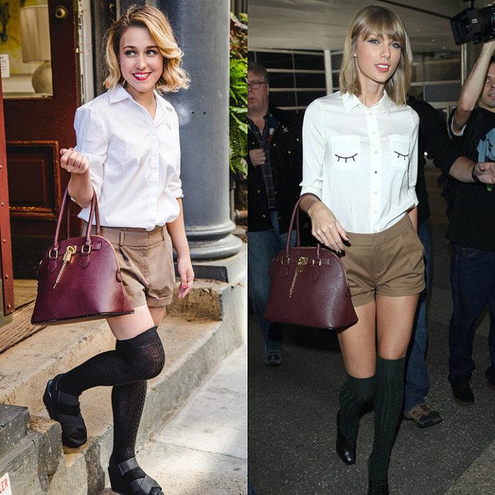Девушка по имени Саманта Саттон (Samantha Sutton) несколько дней одевалась в стиле знаменитой американской певицы и актрисы Тейлор Свифт (Taylor Swift).