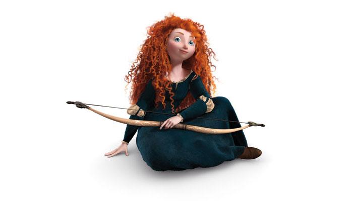 Мультфильм Храбрая сердцем (Brave).