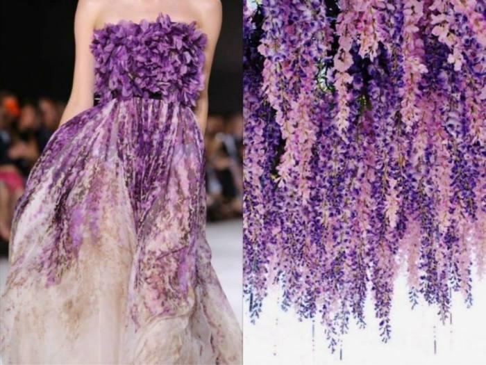 Платья, передающие красоту природы, в проекте Fashion & Nature.